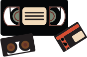 vhs videocassette and video transfer services